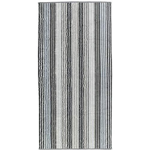 Cawö Home Handtücher Unique Streifen 944 anthrazit - 77 Duschtuch 70x140 cm