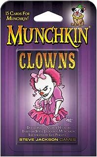 Steve Jackson Games Munchkin Clowns Card Game
