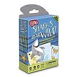 Fournier- Sharks Are Wild-Aprendiendo los Números Juego de Cartas Educativo, Multicolor (1040719)