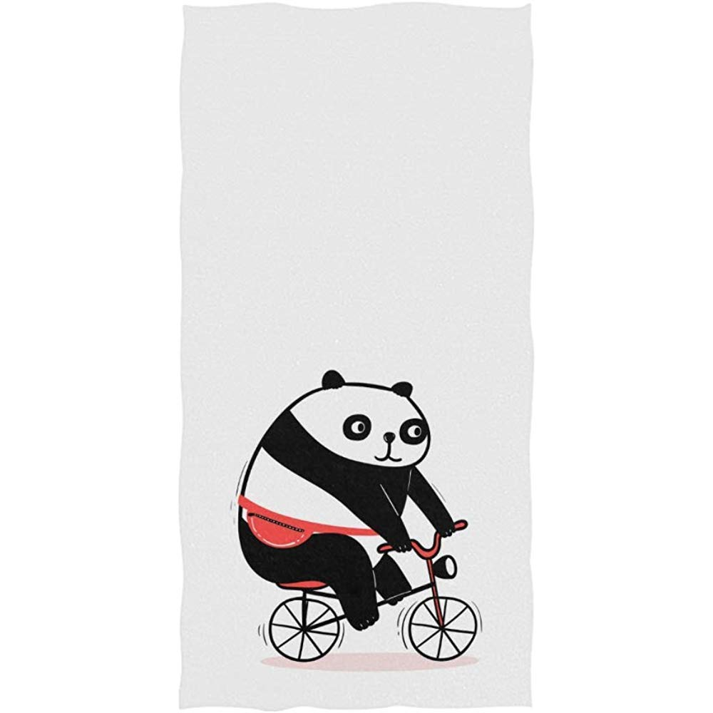 Candi-Shop Cute Cartoon Fat Bear con Riñonera Bicicleta de Montar ...