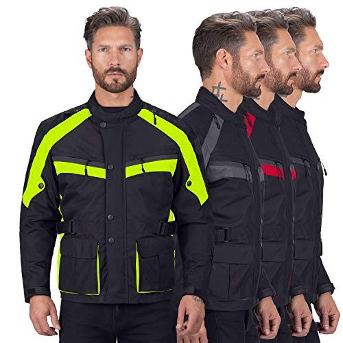 Viking Cycle Enforcer Touring/Adventure Textile Waterproof Mesh Riding Motorcycle Jacket for Men