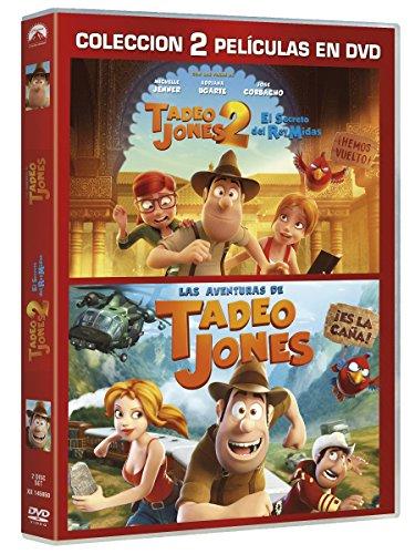 Pack: Tadeo Jones 1+ Tadeo Jones 2 [DVD]