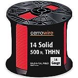 Cerro 112-1453J 500-Feet 14-Gauge Solid THHN, Red