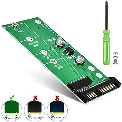 "/"" SATA III 6Gb//S To M.2 NGFF B-Key 2230//2242//2260//2280 SATA-Based SSD Adapter"