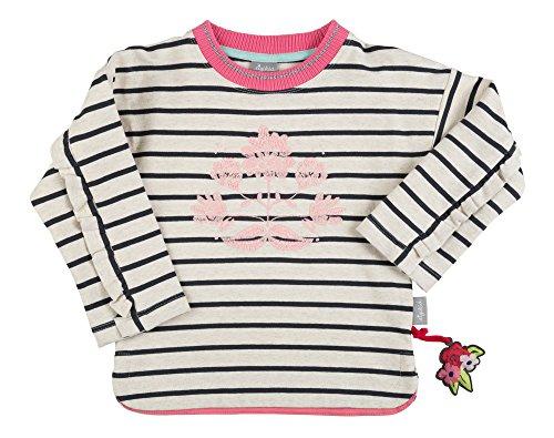 Sigikid Mädchen Sweat Shirt, Mini Sweatshirt, Beige (Melange Art 472bl 432), 116