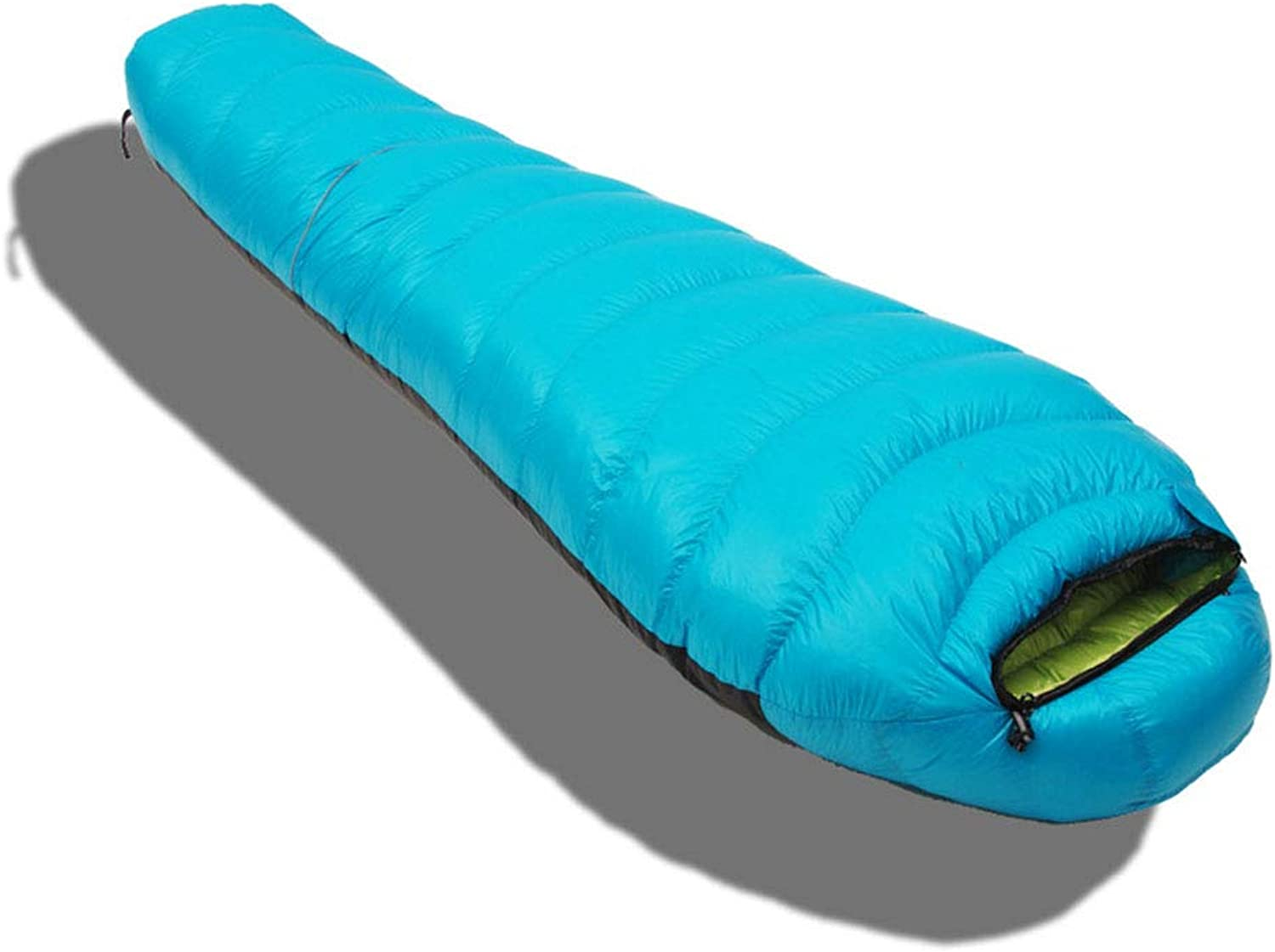 Sleeping Bag, Mummy Warm Sleep Bags Lightweight Waterproof Sleeping Pad Comfortable Portable Adults Sleep Sack Great for Outdoor Camping Extreme Expeditions,lightbluee,1200g