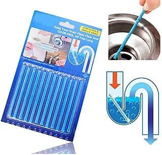 WEKNOWU Abridores de Drenaje, Clean Stick Cleaner Desodorizante Sin Perfume Drenaje Eliminador de Basura Limpiador para tuberías