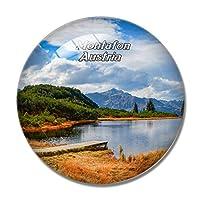 モンタフォン湖オーストリア冷蔵庫マグネットホワイトボードマグネットオフィスキッチンデコレーション