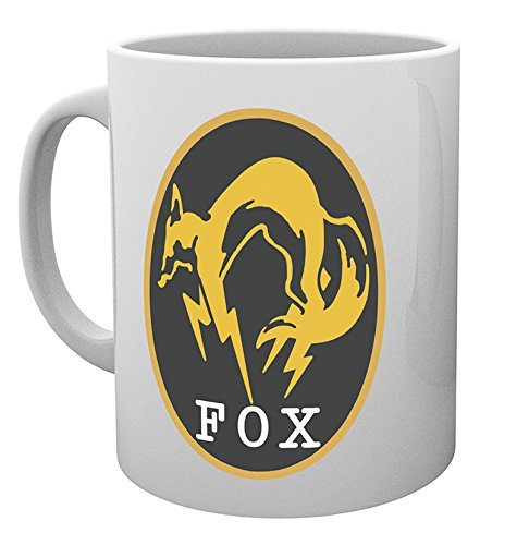 GB Eye Foxhound Metal Gear Solid V Becher, Mehrfarbig