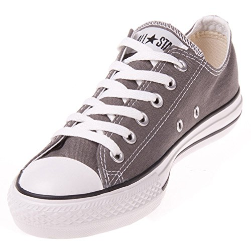 Converse Unisex Chuck Taylor All Star Ox Low Top Classic Wild Dove/Black Sneakers - 8 B(M) US Women / 6 D(M) US Men