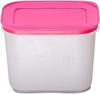 Tupperware Plastic Freezer Mates Gen II 1.1L 1pc (Pink, White)