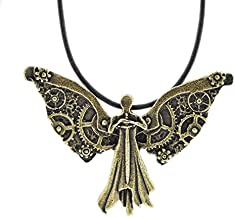 Tessa's Clockwork Angel Necklace, Infernal Devices, Shadowhunters Necklace, Mortal Instruments Necklace, Cassandra Clare