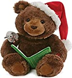 GUND Animated Storytime Bear Holiday Plush Stuffed Animal Sound and Movement, 11'