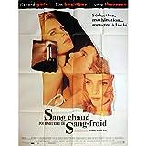 SANG CHAUD POUR MEURTRE DE SANG FROID Affiche de film 120x160 cm - 1992 - Uma...