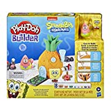 Play-Doh Builder Spongebob Squarepants Pineapple House Toy Building Kit for Kids 5 Years and Up with 8 Cans of Non-Toxic Modeling Compound