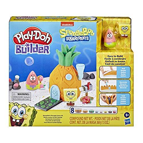 Play-Doh Builder E9047 - Juego de construcción para niños a partir de 5 años con 8 latas