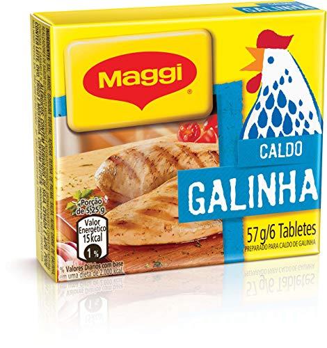 Maggi, Caldo, Galinha, Tablete, 57g