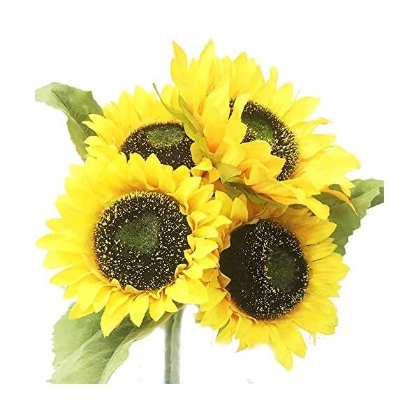 Satbuy Sunflowers Artificial Flowers