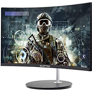 Curved 75Hz Gaming LED Monitor