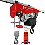 Five Oceans 880 LB. Overhead Electric Hoist Crane with Wireless Remote Control FO-4401...