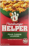 Betty Crocker Hamburger Helper, Four Cheese Lasagna, 5.5 oz