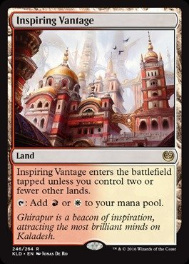 Magic The Gathering - Inspiring Vantage (246/264) - Kaladesh