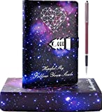 A5 PU Leather Diary with Lock Digital...