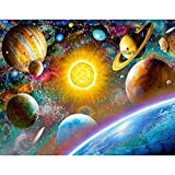 Adarl 5D DIY Full Drill Diamond Painting Rhinestone Solar System Pictures of Crystals Diamond Painting Kits Arts, Crafts & Sewing Cross Stitch