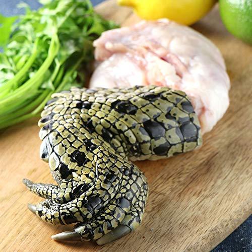 ミートガイ クロコダイルつめ (ワニ肉) (約250g)BBQ 鰐肉 Australian Crocodile Claw