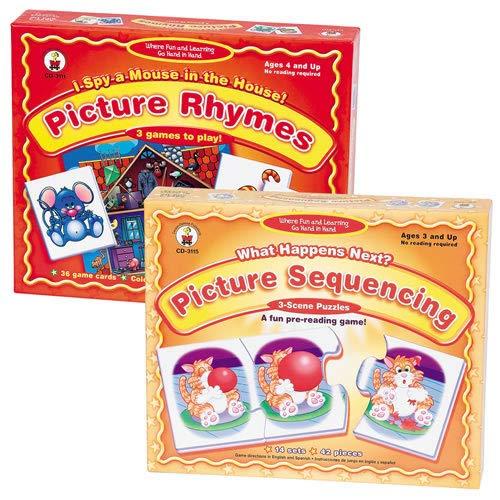 Kaplan Early Learning Company Carson Dellosa Pre-Reading Skills Set