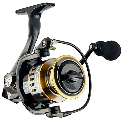NS Outdoors Spinning Reel for Saltwater, Freshwater -...
