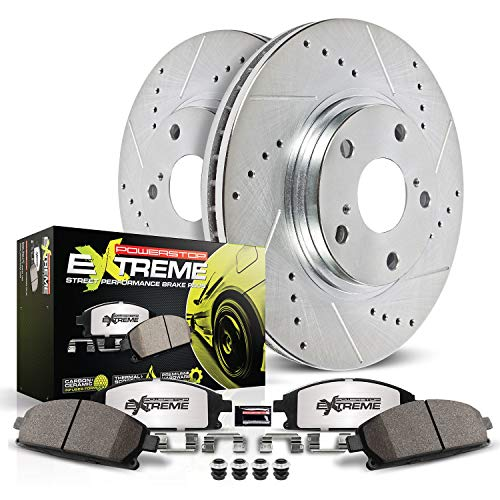 Power Stop K3032-26 Front Z26 Street Warrior Brake Kit Chrysler Dodge Jeep Mitsubishi