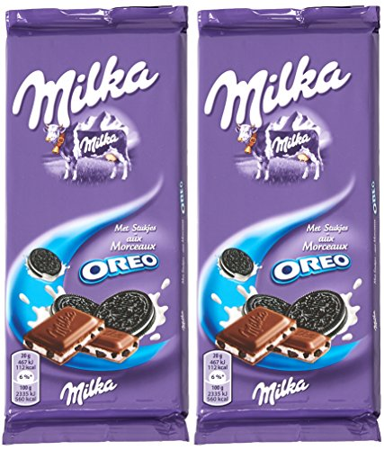 MILKA - Chocolat Milka Oreo 2 x 100 gr.