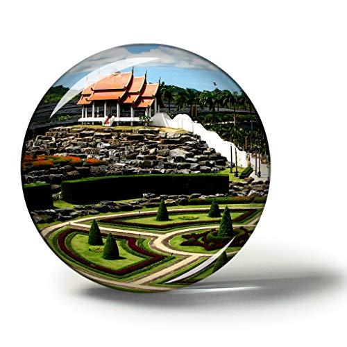 Hqiyaols Souvenir Tailandia Nong Nooch Jardín Botánico Tro