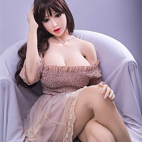 IUYF Männliche Masturbation Körper des Jungen Mädchens Orgasmus Sex lebensgroße aufblasbare Sexpuppe Verschiedene Sex-Posen aufblasbare Liebespuppe, privater Transport