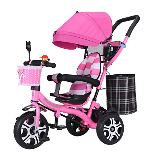 Why Should You Buy Multifunctional Baby Stroller Trike Bike Detachable Guardrail Kids' Trolley with ...