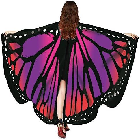 Grand papillon ailes papillon ailes Femmes Cape Clochette Fée Elfe