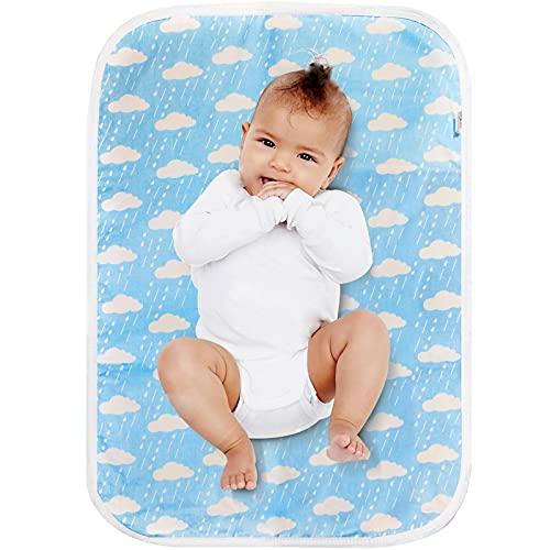 Wickelunterlage, Baby-Wickelunterlage, tragbar, wasserdicht, faltbar, für Zuhause, Reisen, Wickelunterlage