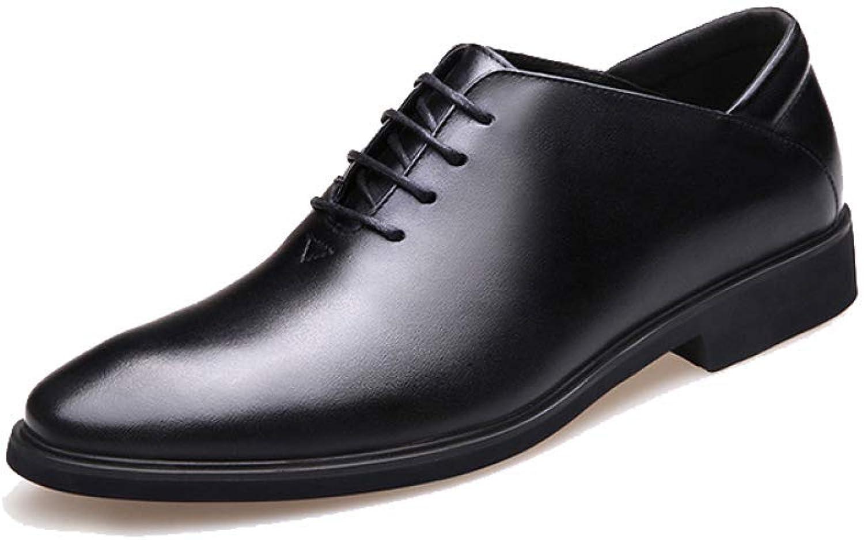 NIUMT Casual Vielseitige Schnürschuhe Herren Lederschuhe Business British Style Trend Trend Trend B07GV3HJB6  f9aed5