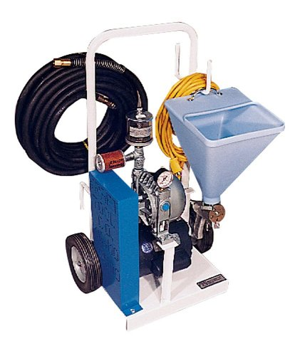Kraft Tool PC500 Standard Texture Gun, Hopper & Hose w/Compressor (Complete Unit), Multi, One Size
