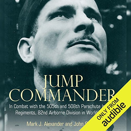 Jump Commander audiobook cover art