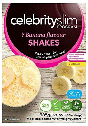 Celebrity Slim Handy Pack Banana 7 Sachet Shake Pack