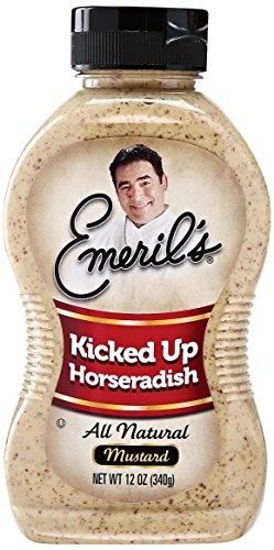 Emeril 's Mustard, Kicked Up, Horseradish, 12 Fl Oz