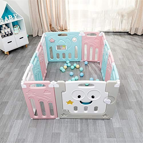 Great Features Of MAODATOU Baby Playpen Foldable Baby Playpen Kids Activity Centre Safety Play Yard ...