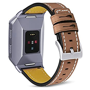 fitbit ionic bands leather