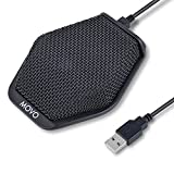 Movo MC1000 Conference USB Microphone for Computer Desktop and Laptop with 180° / 20' Long Pick up...