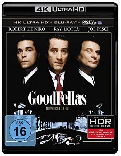 Good Fellas (4K Ultra HD + 2D-Blu-ray) (2-Disc Version) [Blu-ray]