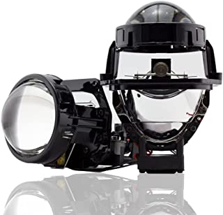 Car Light Accessories - 2 PCS Bi-led Lens 3.0 Hella LED Projector Headlight Lenses Dual Reflector Chips Car Lights Accesso...