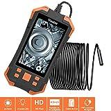 Vastar Endoscope, camera canalisation de Ecran LCD Couleur 4,3 Pouces IPS 1080P, 3000mAh Caméra d'inspection Portable à Lumière Réglable de 5,5mm IP67-5 Mètres