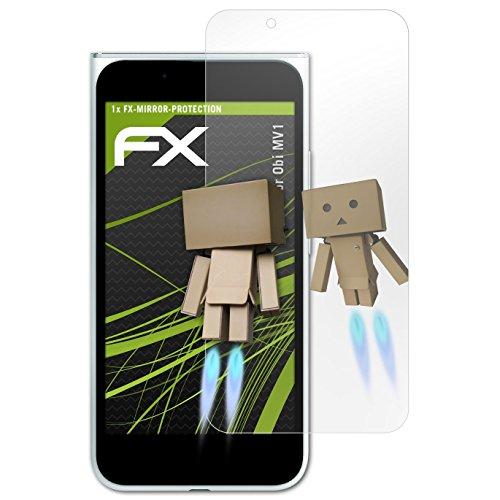 atFolix Displayfolie kompatibel mit Obi MV1 Spiegelfolie, Spiegeleffekt FX Schutzfolie
